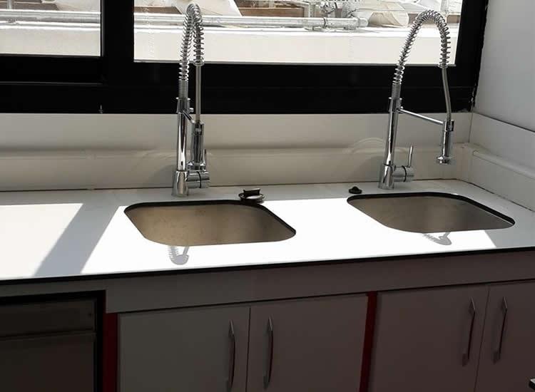 Laboratory Sink - Modkim- Modüler Laboratuvar Sistemleri